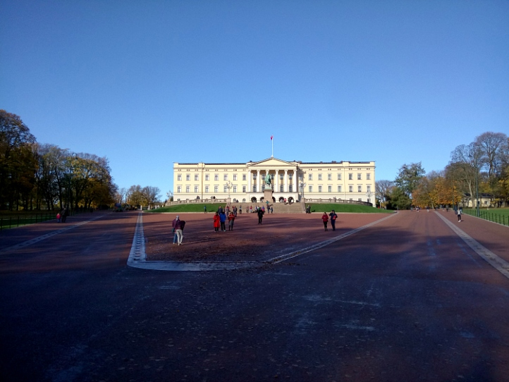 The Royal Palace, Oslo
