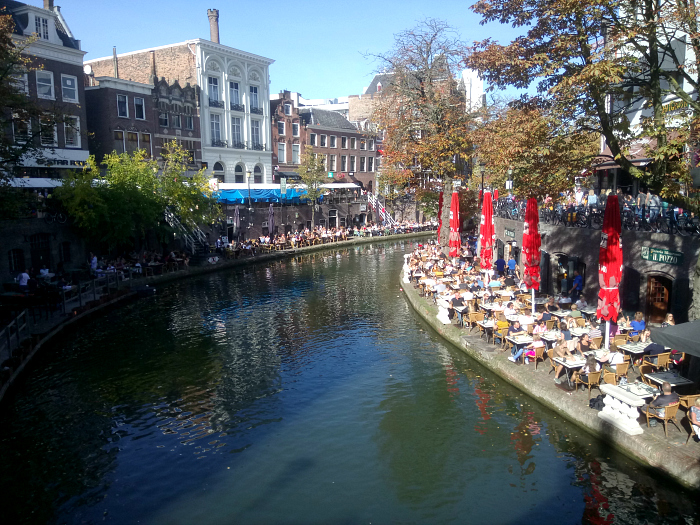 Utrecht canal by day