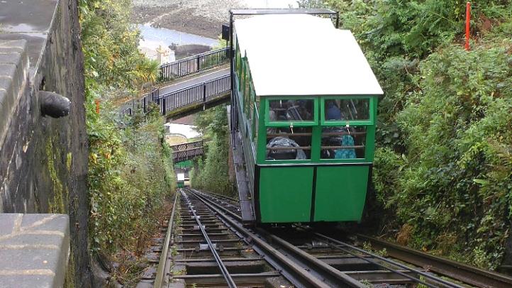 Lynton Cliff Railway