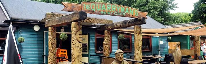 Quarry cafe Irchester Country Park