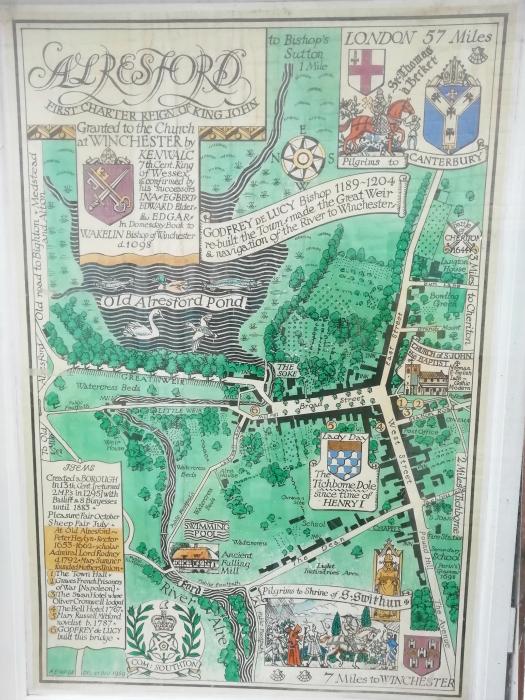 Arlesford Map