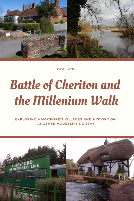 Battle of Cheriton and the Millenium Walk