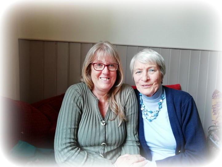 Joy and Jo in Ely
