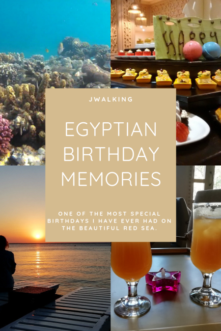 Birthday memories on the Red Sea