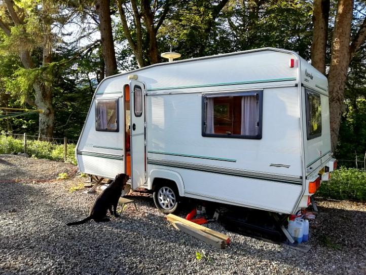 Pitlochry caravan