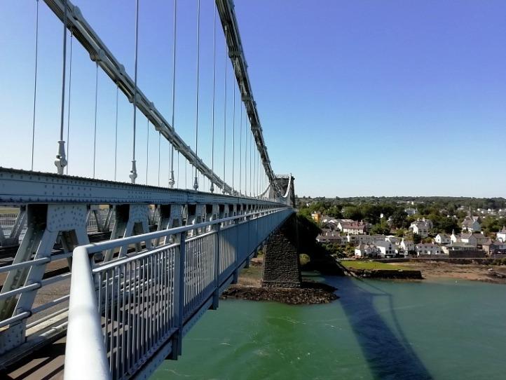 Menai Bridge Anglesey Wales