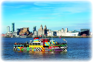 Ferry across the Mersey and LLandudno