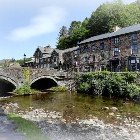Beddgelert Snowdonia Wales