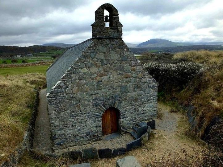 Saint Tanwg Harlech Wales