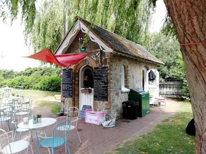 Allington Lock cafe Maidstone