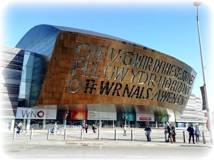 Wales Millenium Centre Cardiff