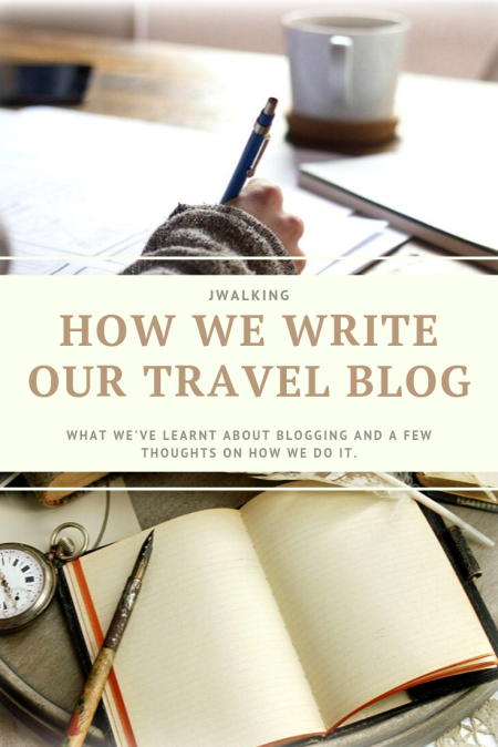 How we write our travel blog