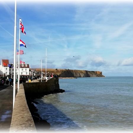 Arramanches Normandy France