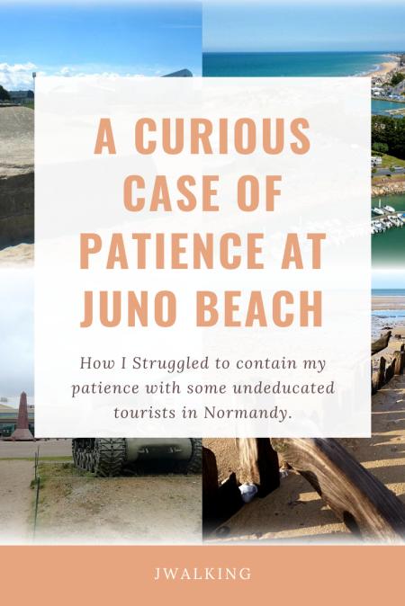 Patience at Juno Beach Normandy