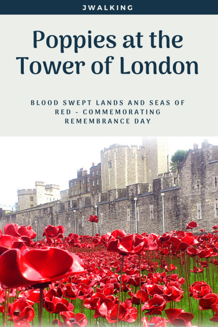 Poppies at the Tower of London Remembrance