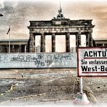 Cold War Train to Berlin