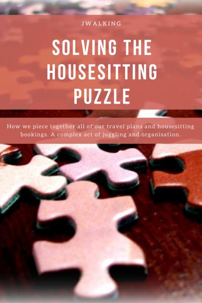 Pinterest SOlving the Housesitting Puzzle
