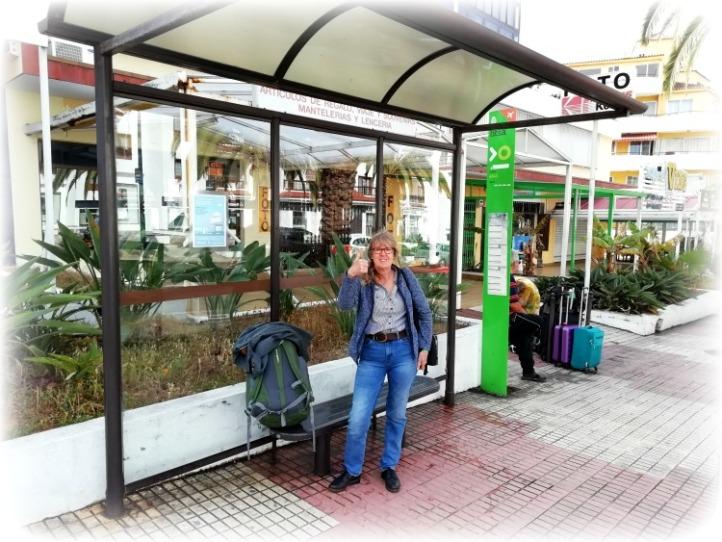 Leaving Tenerife