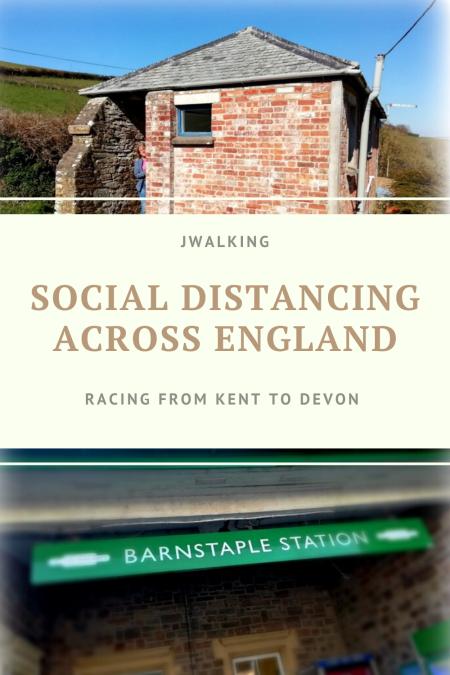 Social distancing across England