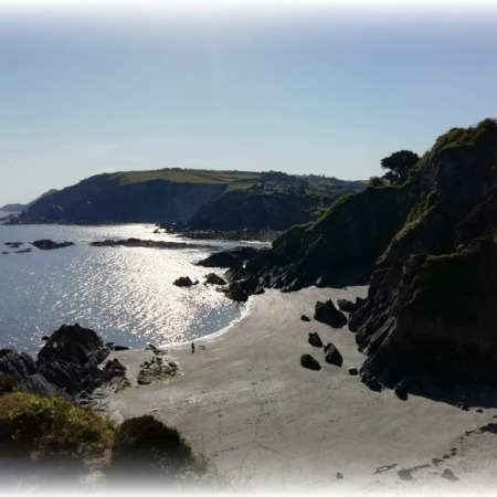 Sandy Cove Devon