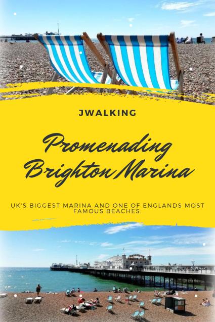Promenading Brighton Marina