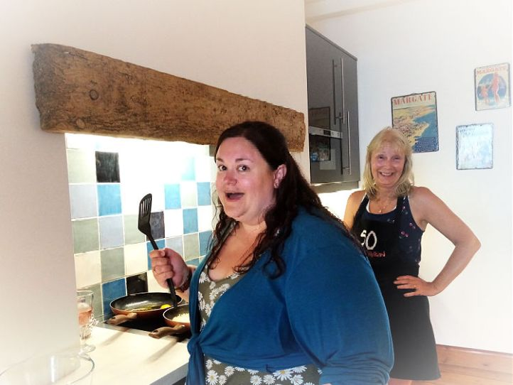 Cooking Glampers in Margate